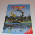 1986 Alton Towers Theme Park Brochure and map
